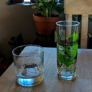 El Jimador liquor glasses